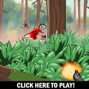 Kamikaze Frogs - Gioco Sparatorie